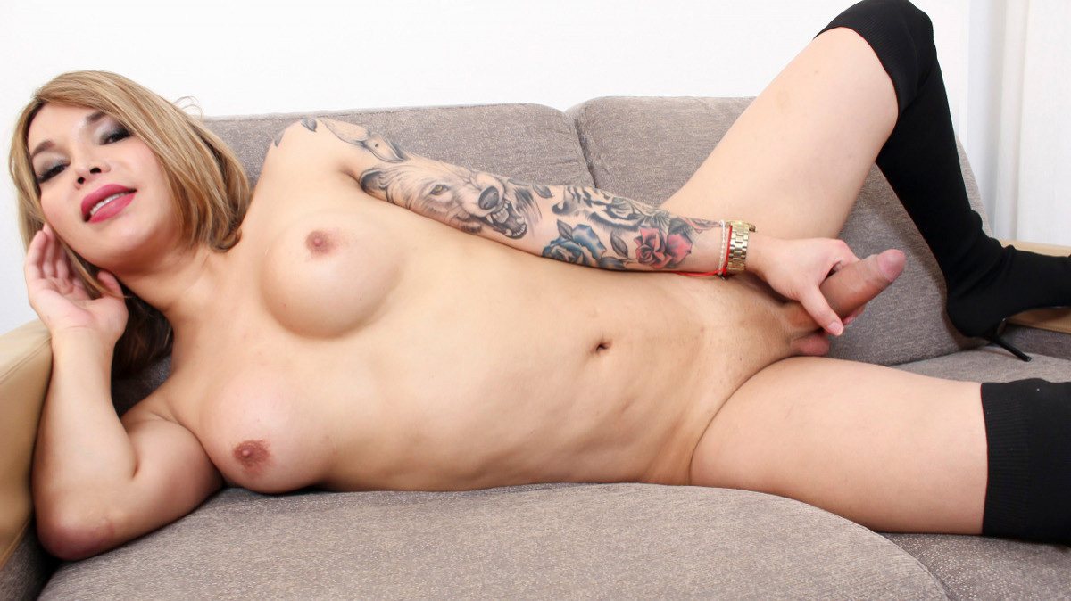 Ashley Helena Strokes And Cums!